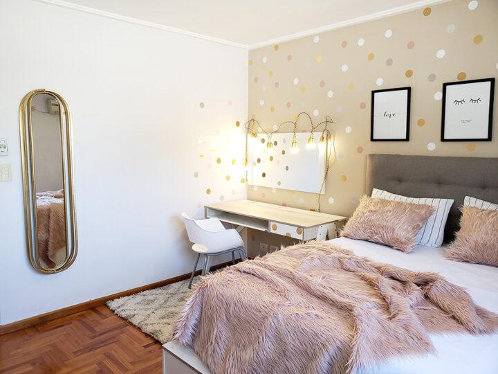 Una habitación que pedía renovación urgente